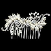 Melody Vintage Pearl Hair Comb